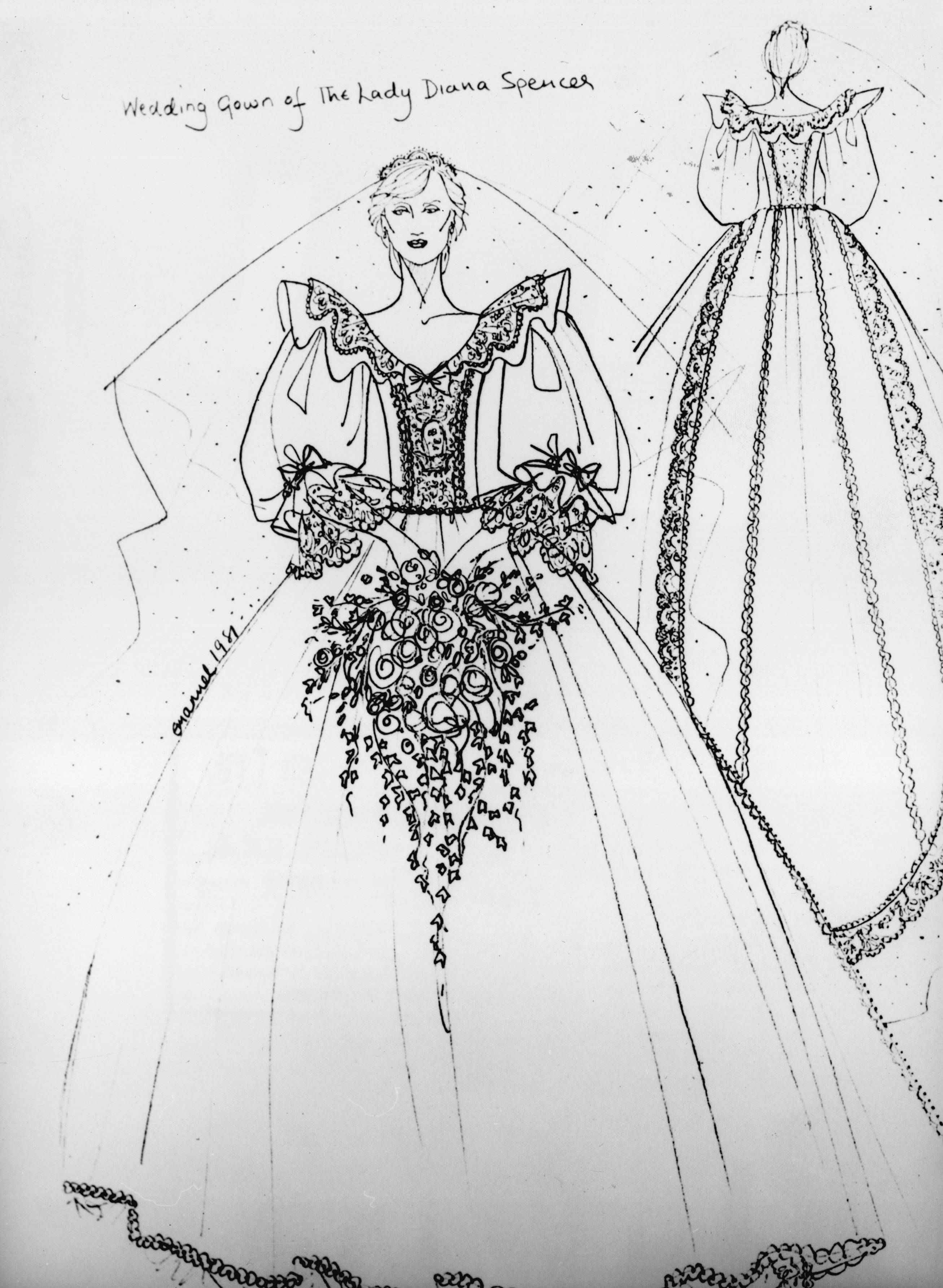 Every Royal Wedding Dress Has To Have A Meaning Sybilia