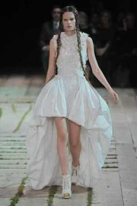 Sarah Burton wedding dress for A. Mc Queen