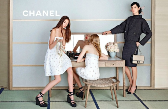 Chanel Spring/Summer 2013 by Karl Lagerfeld