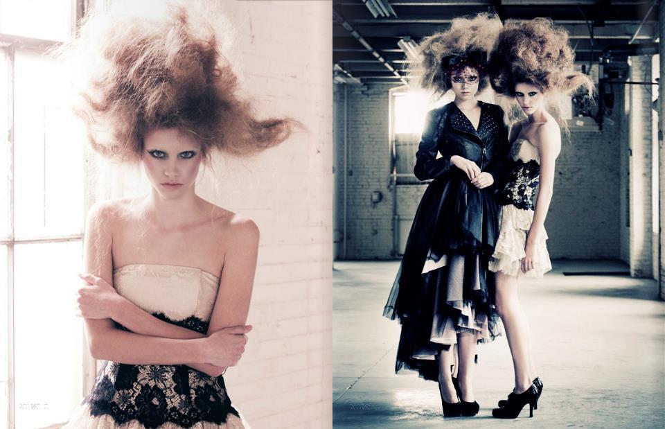 Framed/Portafolio Magazine. with Ashley Hanson and Briley Jones