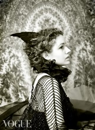 VOGUE ITALIA  ''Alma, The Bride of the Wind'' August 2012