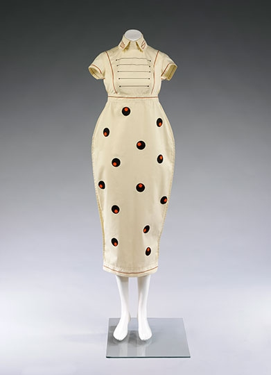 Dress designed by Willy Brown, 1980