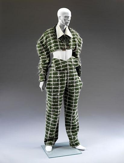 Fallen Angel suit designed by John Galliano