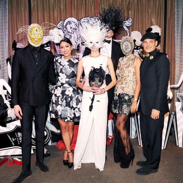 "Save Venice Black and White"" Masquerade Ball at New York City-Dress ..."