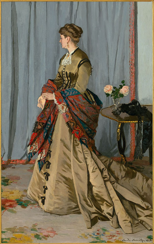 Claude Monet (French, 1840–1926) Madame Louis Joachim Gaudibert, 1868 Oil on canvas