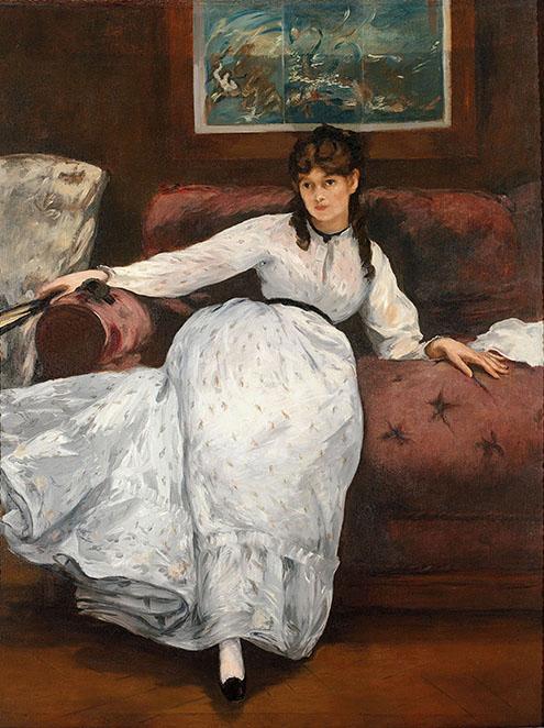 Édouard Manet (French, 1832–1883) Repose, ca. 1871