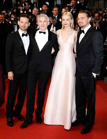 Carey Mulligan,in a pale blush-colored Christian Dior gown.could have done better.
