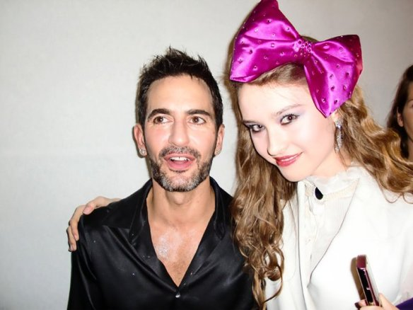 Angel Barta and Marc Jacobs