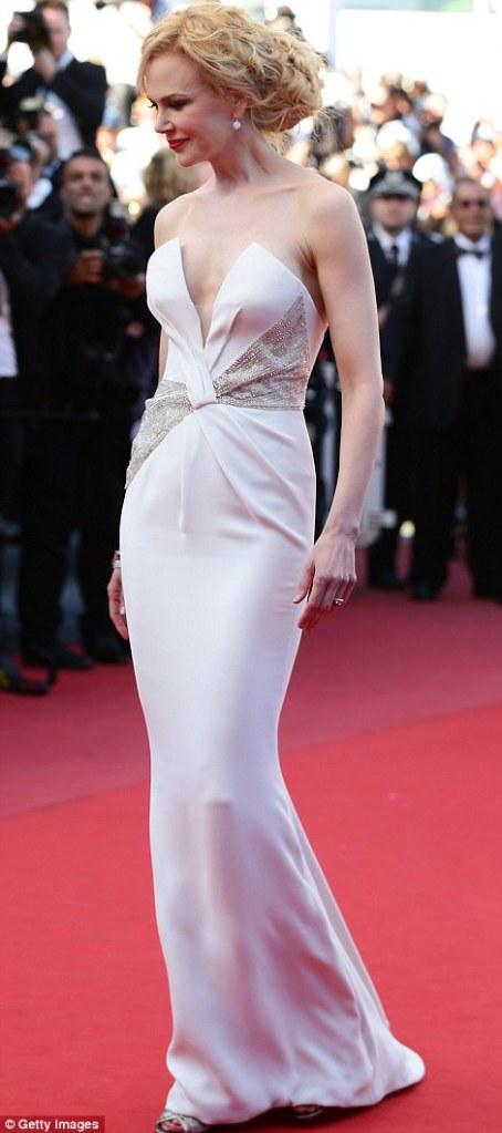 Nicole Kidman make it right in white