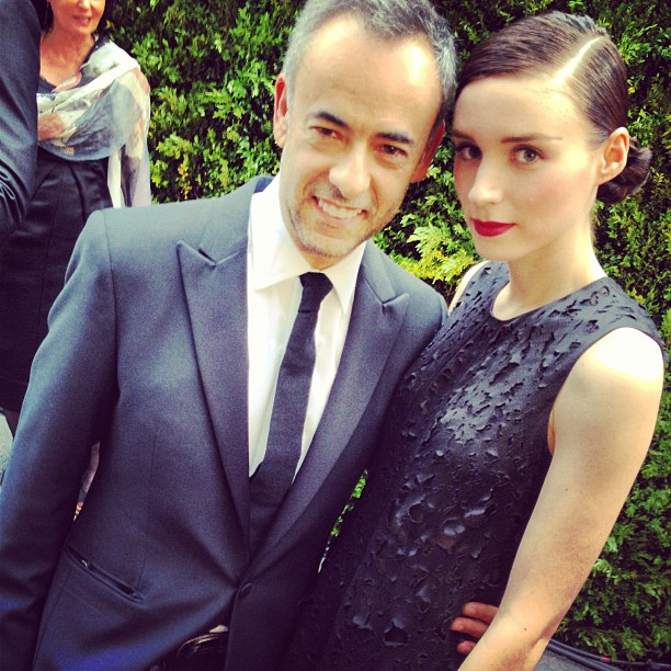 Francisco Costa and Rooney Mara
