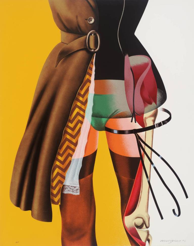 Cut-a-Way 1976 by Allen Jones born 1937