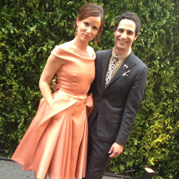 Juliette Lewis and Zac Posen
