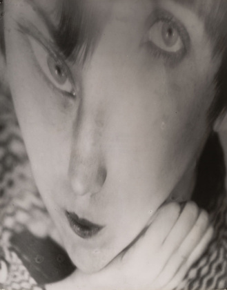 Berenice Abbott. Portrait of the Artist as a Young Woman. Negative c. 1930Distortion c. 1950