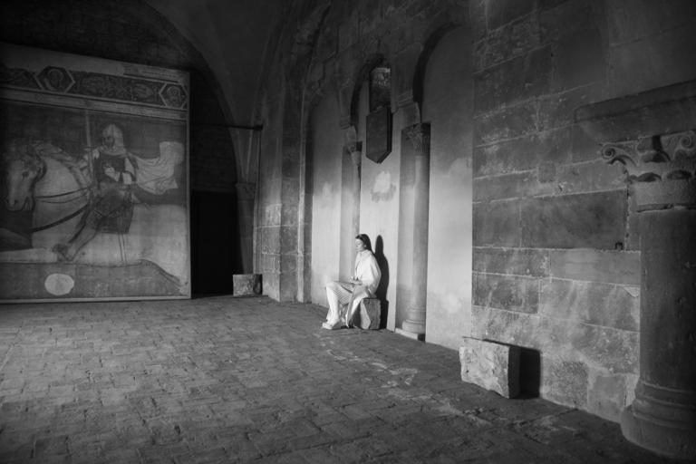 CORPICRUDI and Daniele Giunta - Sinfonia in Bianco minore - live installation Basilica S Maria Maggiore Bergamo 2012