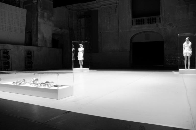CORPICRUDI White Lux - live installation Cavallerizza Reale Torino 2008