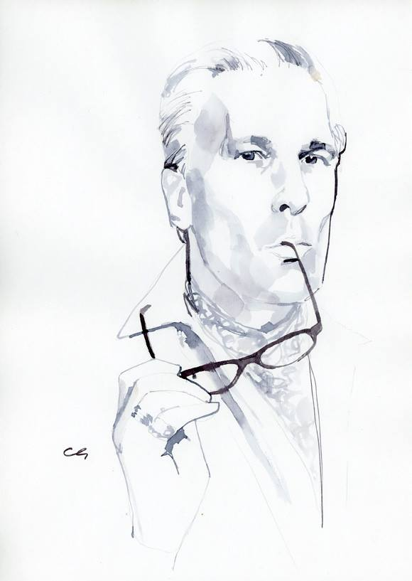 Jeffrey Felner by illustrator Marc-Antoine Coulon