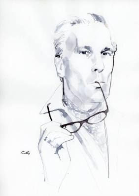 Jeffrey Felner by illustrator Marc-Antoine Coulon