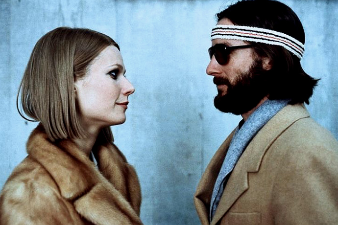 Gwyneth Paltrow and Luke Wilson as Margot and Richie Tenenbaum, 2001