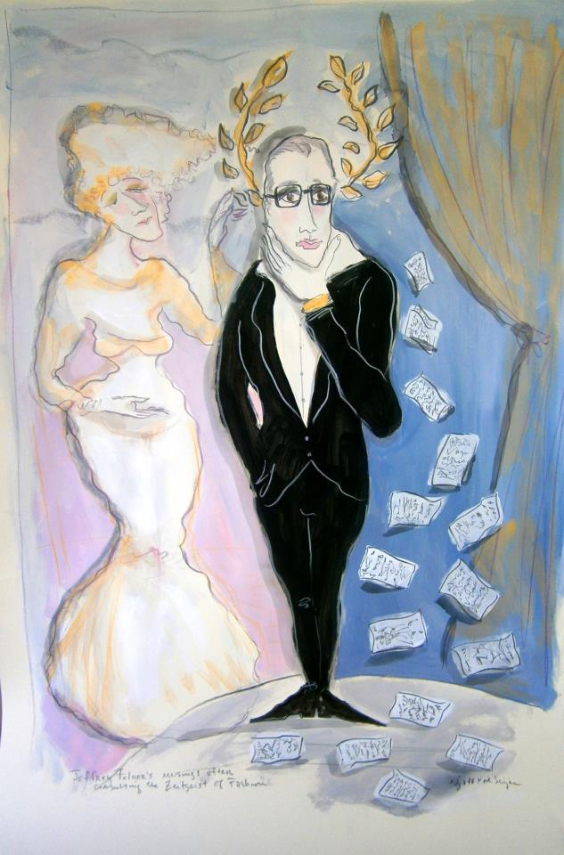 Jeffrey Felner's musings after consulting the Zeitgeist of Fashion by Jaff Noel Seijas