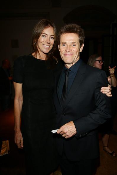 Kathryn Bigelow and Willem Dafoe