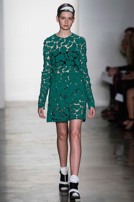 Louise Goldin's emerald