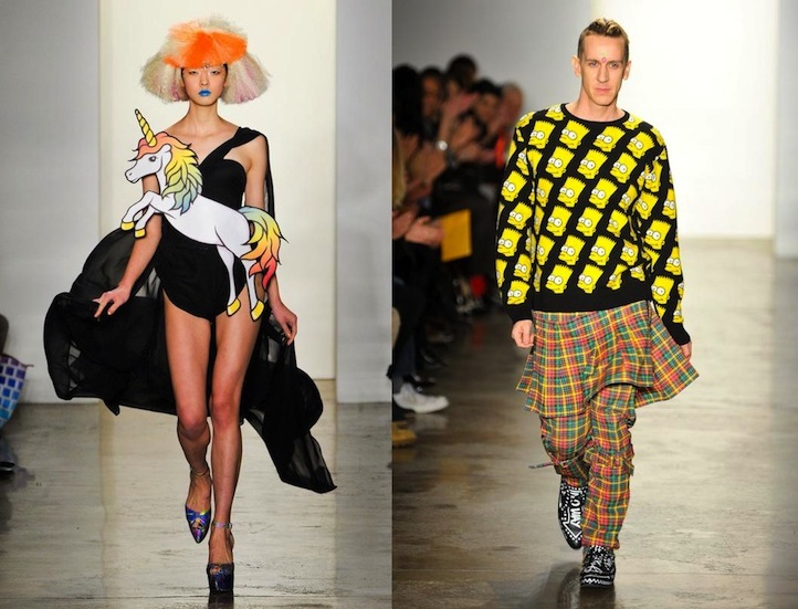 Jeremy Scott fall-2012-NYFW-