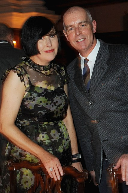 Alice Rawsthorn and Neil Tennant.