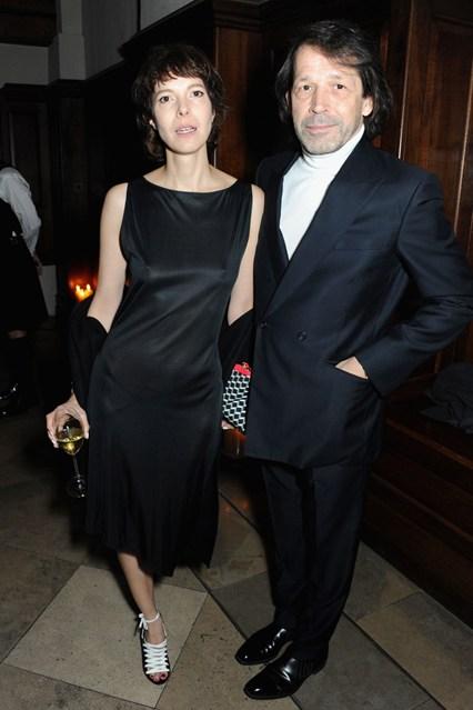 Anna Blessman and Peter Saville.