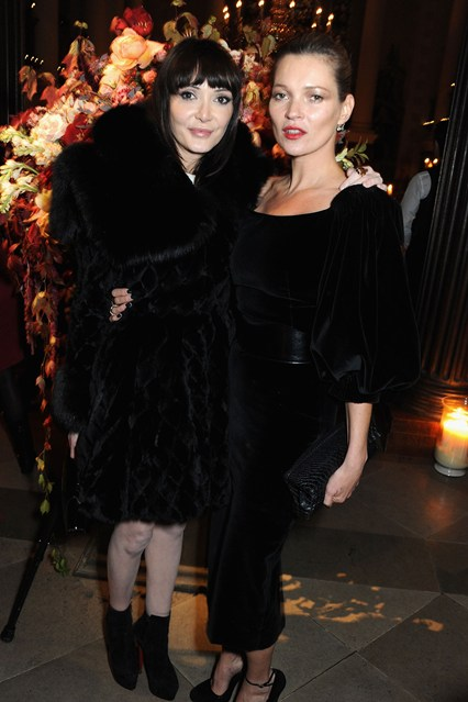 Annabelle Neilson and Kate Moss.