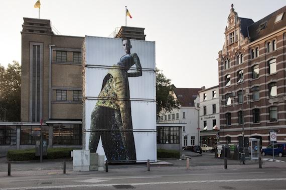 Antwerp Icon Peter Pilotto at Voetgangerstunnel, Photo Ronald Stoops-41-150130