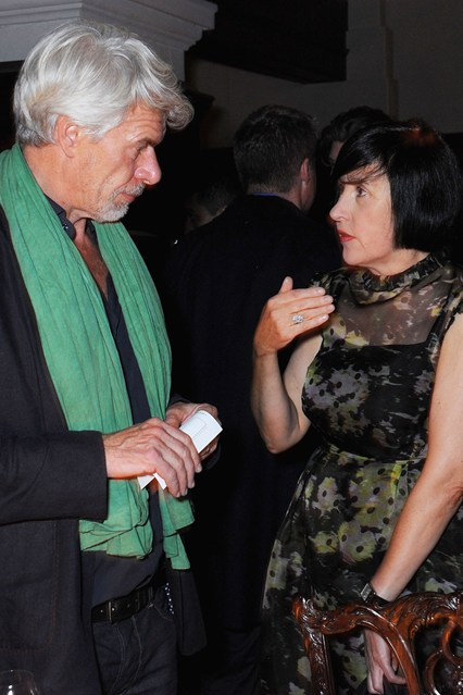 Chris Dercon and Alice Rawsthorn.