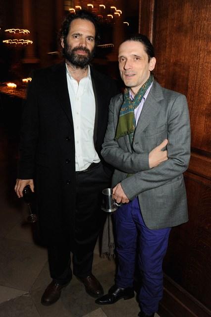 Gavin Brown and Jeremy Deller.