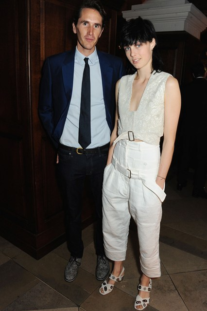 Otis Ferry and Edie Campbell.