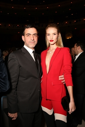 Antonio Berardi & Rosie Huntington-Whiteley