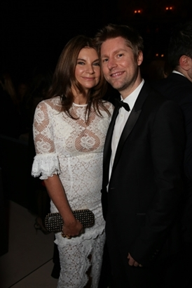 Natalie Massenet MBE & Christopher Bailey MBE
