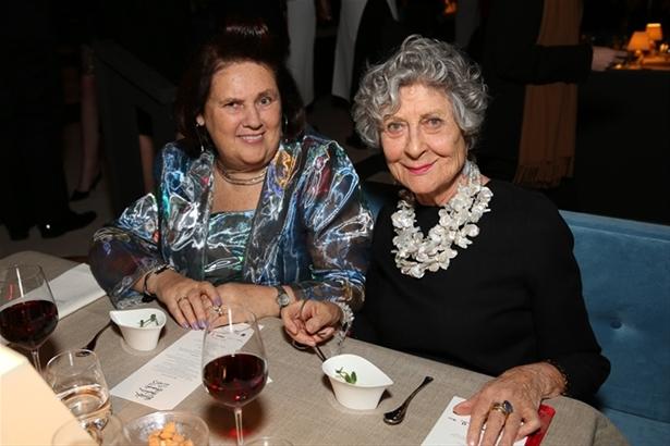 Suzy Menkes & Joan Burstein CBE