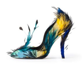 The 'Blue Angel' shoe from Roger Vivier's autumn winter 2012 collection