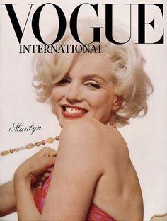 Marilyn in International Vogue - Copy