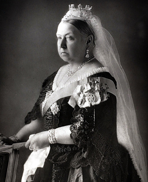 British Royalty. 19th Century. A portrait of H.M. Queen Victoria of Great Britain (1819-1901). Queen Victoria was one of the most famous British monarchs, reigning from (1837-1901) a reign which established Great Britain as one of the world's leaders.