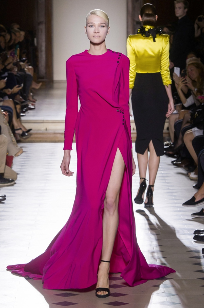 Julien Fournié Couture Fashion Show in Paris Fall Winter 2014 collection
