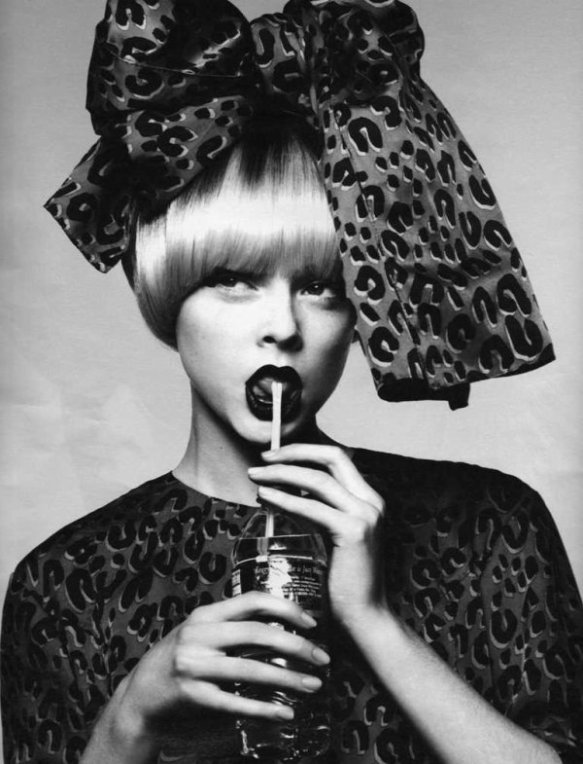 Coco Rocha by Mert & Marcus for W Magazine August 2006