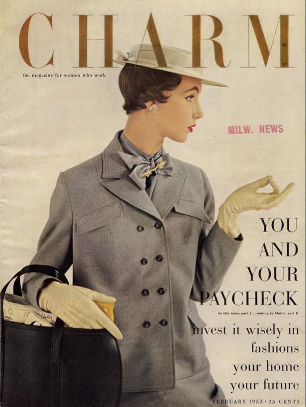 Charm, February 1953