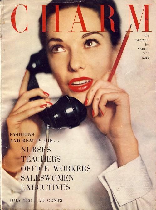 Charm, July 1951