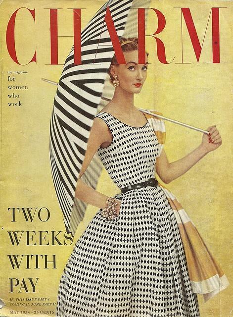 Charm, May 1954