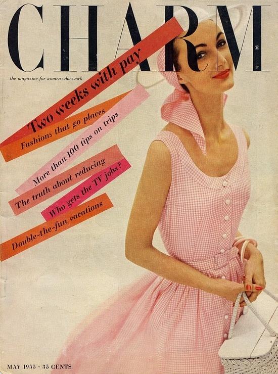 Charm, May 1955.