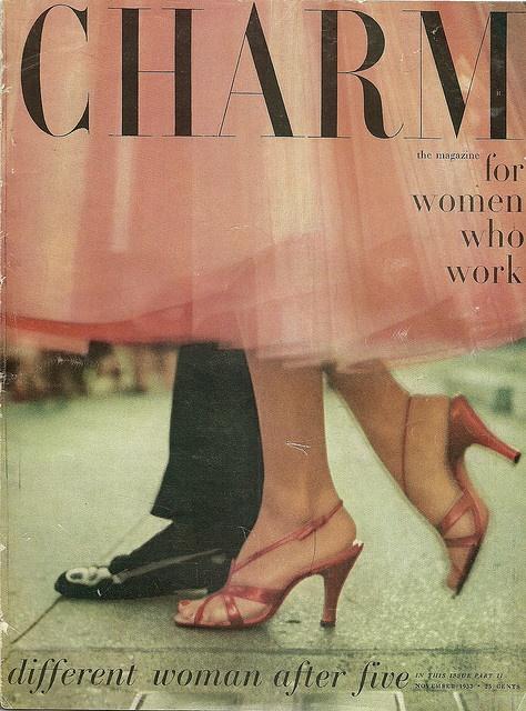 Charm, November 1953.