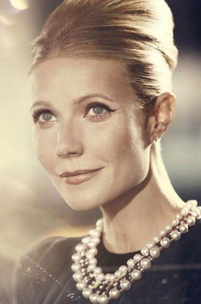 Gwyneth Paltrow as Audrey Hepburn