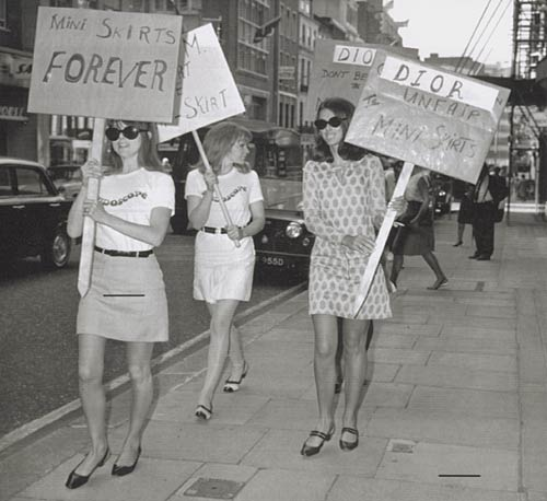 influence of mini skirt in society of 1960s Typical skirts: history and from the picture of the society lady and the design sketches, skirts were usually moment for the modern skirt arrived in the 1960s.
