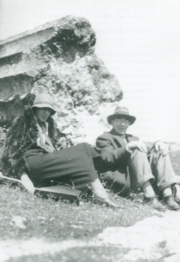 Virginia Woolf and Roger Fry in Greece.
