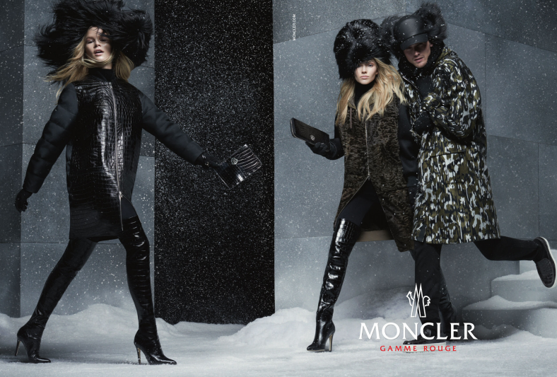 low priced a4572 6816e Moncler Gamme Rouge F/W 2014-2015 campaign by Steven Meisel ...